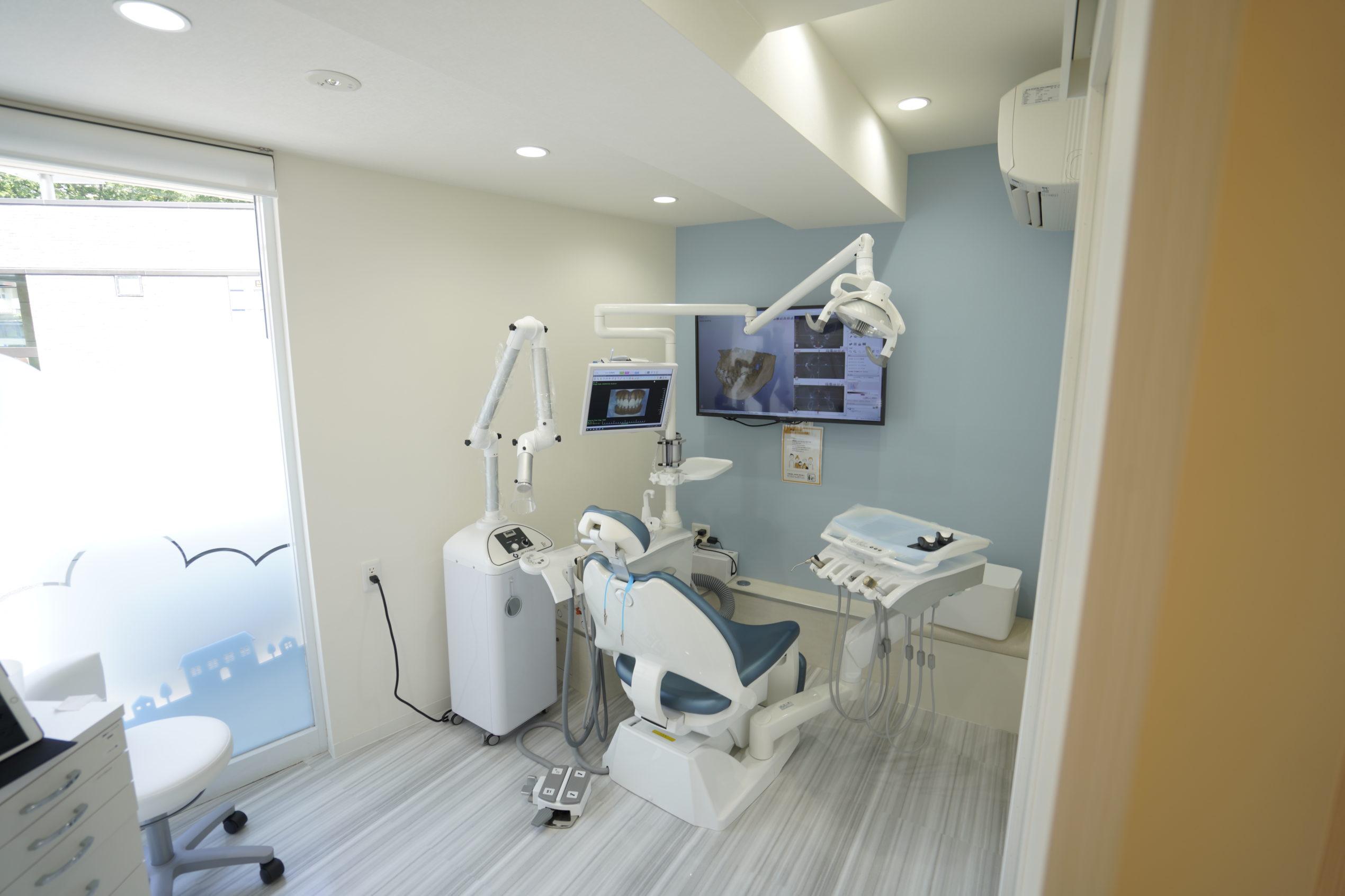 感染症対策をアピールする歯科内覧会 アルファージール